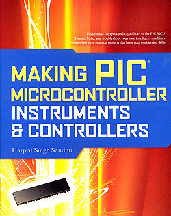 Click for Larger Image - Making PIC Microcontroller Instruments & Controllers
