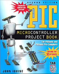 Click for Larger Image - PIC Microcontroller Project Book