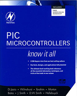 Click for Larger Image - PIC Microcontrollers - Know It All