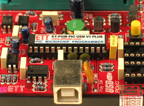 PIC Programmer - USB Connection