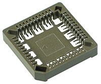 PLCCS44SM - 44 Pin PLCC Surface Mount Socket
