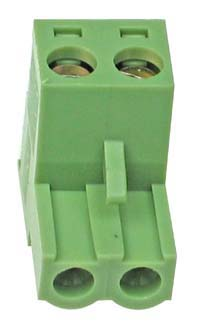 PLUGTERMS2W - 2 Way Screw Terminal Pluggable Socket