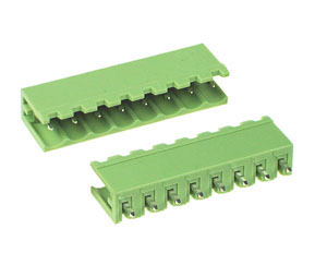 PLUGTERMV8W - 8 Way Vertical PCB Mount Header