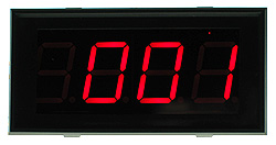 PM1029B - Jumbo LED Panel Meter - 5V Common Ground