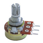 1/2W Logarithmic Taper Potentiometers