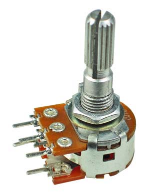 POT100KASWITCH - 100K Logarithmic Taper Potentiometer with Switch