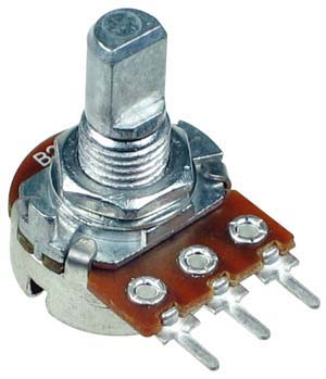 100k Ohm Linear Rotary Potentiometer With D Type Shaft