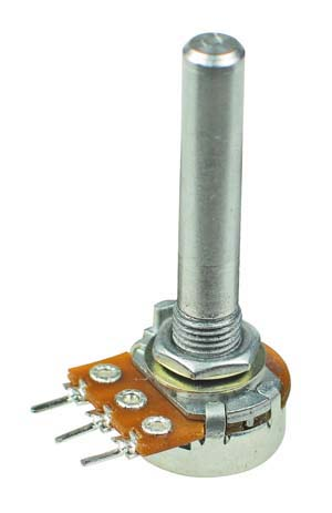 POT1MBSHAFT - 1M Linear Taper Potentiometer with 35mm Shaft