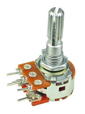 POT5KBSWITCH - 5K Linear Taper Potentiometer with Switch