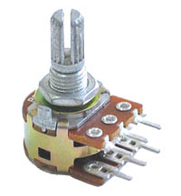 50k ohm Dual Logarithmic Rotary Potentiometer
