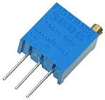 1/2W Vertical Square Cermet Potentiometers