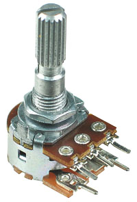 50k ohm Linear Rotary Taper Potentiometer with Switch