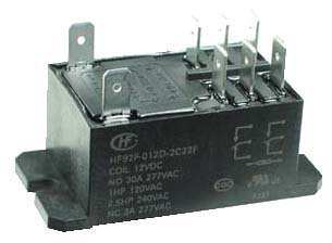 PR12VDCDPDT - DPDT 12VDC 30A General Purpose Power Relay