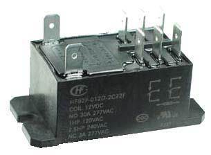 PR12VDCDPDT  DPDT 12VDC 30A General Purpose Power    Relay