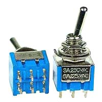 DPDT11 - DPDT on-on Miniature Toggle Switch