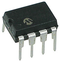 PIC12F508-I/P - PIC12F508 Flash 8-pin 4MHz Microcontroller