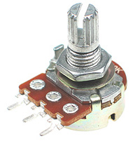 POT100K - 100Kohm Linear Rotary Taper Potentiometer