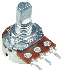 POT50KBSHAFTD - 50k ohm Linear Rotary Potentiometer with D-Type Shaft