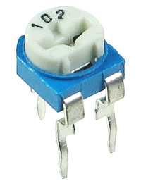 TRIM1K - 1k 1/2W Miniature Horizontal Potentiometer (Trimpot)