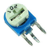 TRIMV100R - 100R 1/2W Miniature Vertical Potentiometer (Trimpot)