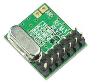 RFM31 - Radio Data Receiver Module