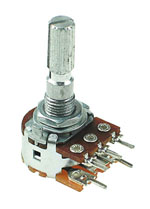 1/2W Logarithmic Rotary Potentiometers with Switch