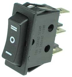 SPDT Momentary On-Off-On Rocker Switch