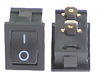 RSPST - SPST Panel Mount Small I-O Rocker