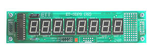 8 x 7-Segment LED Display