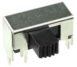 DPDT Horizontal Slide Switch
