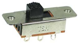 DPDT On-On Vertical Slide Switch