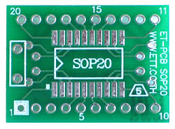 20 pin SOIC Adapter