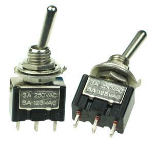 SPDT11 - SPDT on-on Miniature Toggle Switch