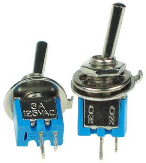 SPST10SM - SPST on-off Sub Miniature Toggle Switch