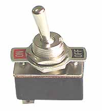 SPST10ST - SPST on-off Standard Toggle Switch