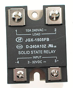 SSR10A - SPST 3-32VDC 10A Solid State Relay