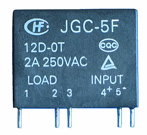 SSR3A5V - SPST 5VDC 2A Solid State Relay Technical Data