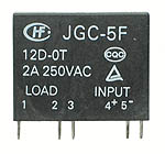 2A Miniature Solid State Relays