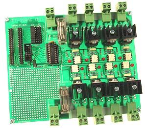 Click for Larger Image - Solid State Relay Board
