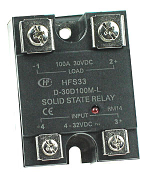SPST 0-30Vdc 100A DC Solid State Relay