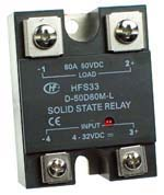 SSRDC50V80A - SPST 0-50Vdc 80A DC Solid State Relay