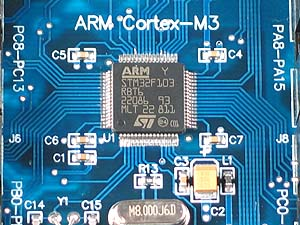 Click for Larger Image - ST Microelectronics ST32F103 Microcontroller