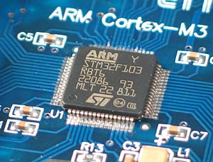 Click for Larger Image - STM32F103 ST Microelectronics Microcontroller