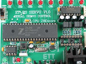 Click for Larger Image - Zilog Z8 Microcontroller