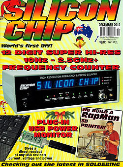 Click for Larger Image - Silicon Chip - December 2012