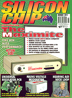 Click for Larger Image - Silicon Chip - March 2011