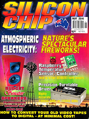 Silicon Chip - May 2016