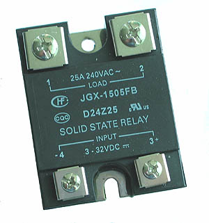 SSR25A - SPST 3-32VDC 25A Solid State Relay