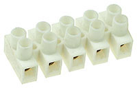 TERM20A - 12 Way 20A PVC Terminal Block