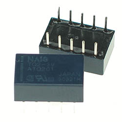 TQ2-5V - DPDT 5V 1A DIP Relay Technical Data